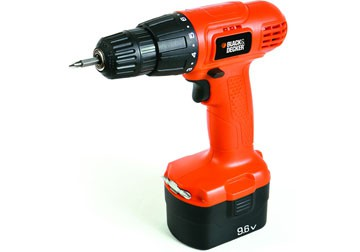 9.6V Máy khoan pin Black and Decker CD961
